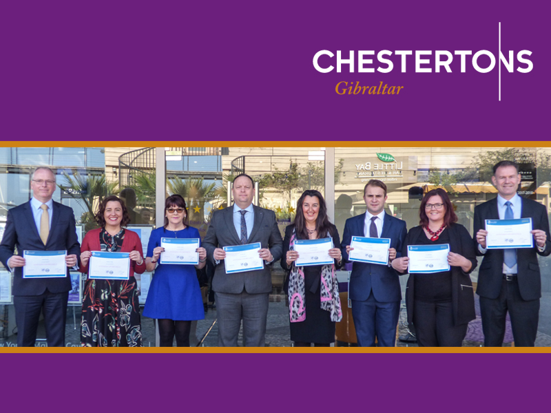 Chestertons' staff awarded Estate Agency Diploma Image