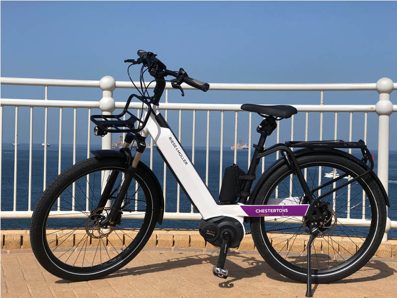 Chestertons launches hourly rental of its eBike fleet Image