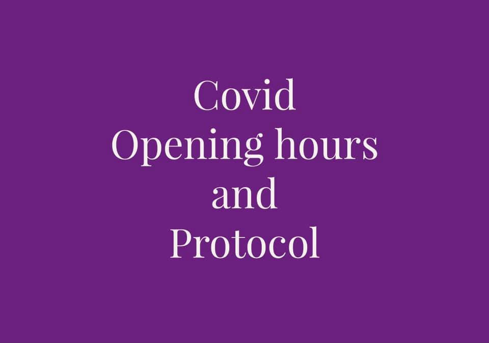 Covid opening hours and protocol Image